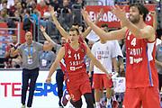 DESCRIZIONE : Berlino Berlin Eurobasket 2015 Group B Spain Serbia <br /> GIOCATORE :  Nemanja Nedovic<br /> CATEGORIA :  Esultanza mani curiosità composizione<br /> SQUADRA : Serbia<br /> EVENTO : Eurobasket 2015 Group B <br /> GARA : Spain Serbia <br /> DATA : 05/09/2015 <br /> SPORT : Pallacanestro <br /> AUTORE : Agenzia Ciamillo-Castoria/I.Mancini<br /> Galleria : Eurobasket 2015 <br /> Fotonotizia : Berlino Berlin Eurobasket 2015 Group B Spain Serbia