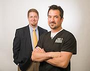 Tim Thorson & Dr. Beer, Cheyenne Regional Medical Center Portraits