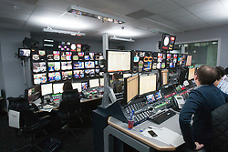 The video Gallery at the Sky Sports TV studio for the transfer Deadline Day show..© Michael Schofield...