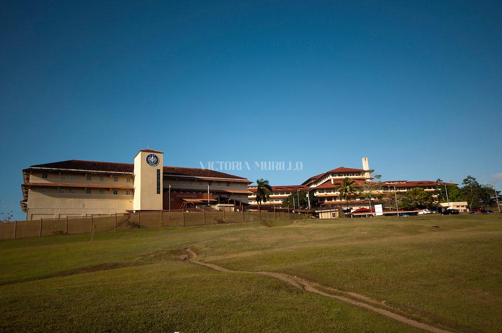 Edificio de la ciudad del saber, ubicado en Clayton, una ex-base militar de los Estados Unidos de Noteamerica. Actualmente es un complejo de la Caja del Seguro Social de Panama. Panama, 17 de marzo de 2012. (Victoria Murillo/Istmophoto)