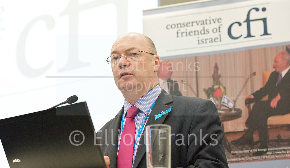 Conservative Party Annual Conference, Manchester, Great Britain <br /> 2nd - 5th October 2011 <br /> <br /> Alistair Burt MP<br /> Parliamentary Under Secretary of State for the Foreign and Commonwealth Office<br /> <br /> Photograph by Elliott Franks