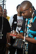 Slick Rick at The Rock the Bells International Festival Series powered by SandDisk held at Jones Beach on August 3, 2008..Few events can claim to both capture and define a movement, yet this is precisely what Rock The Bells has done since its inception in 2003. Rock The Bells is more than a music festival. It has become a genuine rite of passage for thousands of core, social, conscious, and independent Hip Hop enthusiasts, backpackers, and heads. Following in the colorful tradition and history of past Hip Hop music festivals such as Smoking Grooves and Cypress Hill?s Smoke Out, Rock The Bells is the ultimate Hip Hop platform and premiere music experience in America. Rock The Bells has established a forum of unparalleled diversity and excellence by uniting the biggest names involved with urban culture.