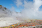 USA, Wyoming, Yellowstone National Park, Midway Geyser Basin, Excelsior Geyser