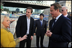 The Prime Minister David Cameron tours Birmingham Library, Tuesday October 9, 2012. Photo By Andrew Parsons / i-Images