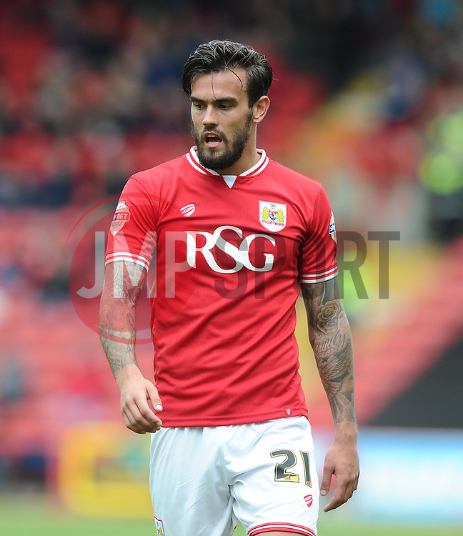 Bristol City's Marlon Pack - Photo mandatory by-line: Joe Meredith/JMP - Mobile: 07966 386802 - 03/05/2015 - SPORT - Football - Bristol - Ashton Gate - Bristol City v Walsall - Sky Bet League One