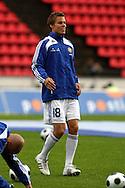 20.08.2008, Ratina, Tampere, Finland..Yst?vyysottelu Suomi - Israel / Friendly International match Finland v Israel.Niklas Moisander - Finland.©Juha Tamminen.....ARK:k