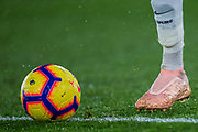 Dele Alli (Tottenham) football and his boot during the Premier League match between Crystal Palace and Tottenham Hotspur at Selhurst Park, London, England on 10 November 2018.