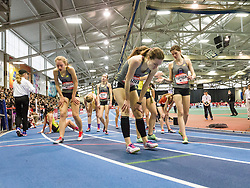New Balance Indoor Grand Prix track & field, Girls Mile