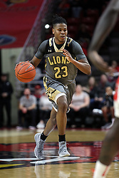 NORMAL, IL - November 24:  Diego Womack during a college basketball game between the ISU Redbirds  and the Lindenwood Lions on November 24 2018 at Redbird Arena in Normal, IL. (Photo by Alan Look)