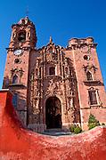 MEXICO, GUANAJUATO La Valenciana Church built in 1765