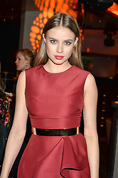 XENIA TCHOUMITCHEVA at the Fashion Targets Breast Cancer 20th Anniversary Party held at 100 Wardour Street, Soho, London on 12th April 2016.