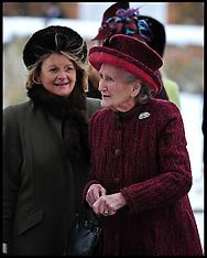 JAN 20 2013  Margaret Rhodes cousin of Queen Elizabeth II
