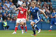 Nottingham Forest midfielder Henri Lansbury (10)  watches his shot go wide during the EFL Sky Bet Championship match between Sheffield Wednesday and Nottingham Forest at Hillsborough, Sheffield, England on 24 September 2016. Photo by Simon Davies.