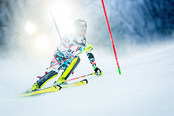"""Dominik Raschner (AUT) during FIS Alpine Ski World Cup 2016/17 Men's Slalom race named """"Snow Queen Trophy 2017"""", on January 5, 2017 in Course Crveni Spust at Sljeme hill, Zagreb, Croatia. Photo by Ziga Zupan / Sportida"""