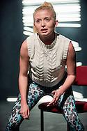 Iphigenia In Splott at The Sherman Theatre<br /> By Gary Owen <br /> Director: Rachel O'Riordan <br /> Designer: Hayley Grindle <br /> Lighting Designer: Rachel Mortimer <br /> Sound Designer: Sam Jones <br /> <br /> Sophie Melville as Effie