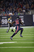 Houston Texans running back Lamar Miller (26) in action during the NFL week 8 regular season football game against the Miami Dolphins on Thursday, Oct. 25, 2018 in Houston. The Texans won the game 42-23. (©Paul Anthony Spinelli)