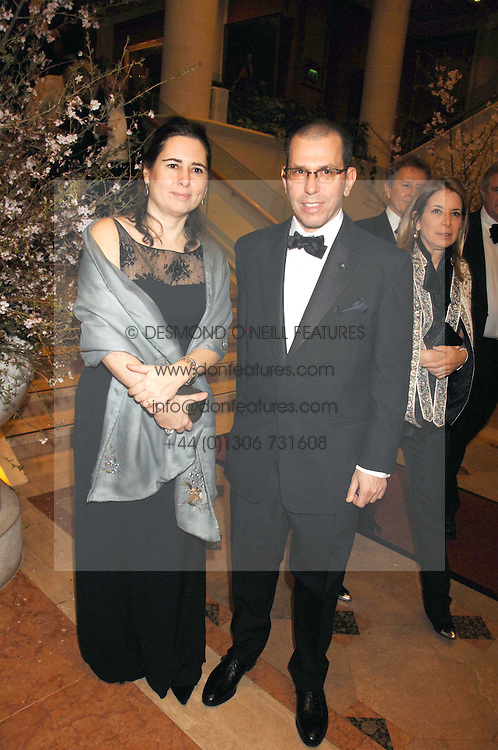 ALEXANDRA SHULMAN and JONATHAN NEWHOUSE at the Feast of Albion a sumptious locally-sourced banquet in aid of The Soil Association held at The Guildhall, City of London on 12th March 2008.<br /><br />NON EXCLUSIVE - WORLD RIGHTS