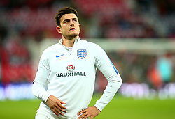 Harry Maguire of England - Mandatory by-line: Robbie Stephenson/JMP - 05/10/2017 - FOOTBALL - Wembley Stadium - London, United Kingdom - England v Slovenia - World Cup qualifier