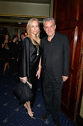 DANNY HUSTON and KATE DRIVER at The Hoping Foundation's 'Starry Starry Night' Benefit Evening For Palestinian Refugee Children held at The Cafe de Paris, Coventry Street, London on 19th June 2014.