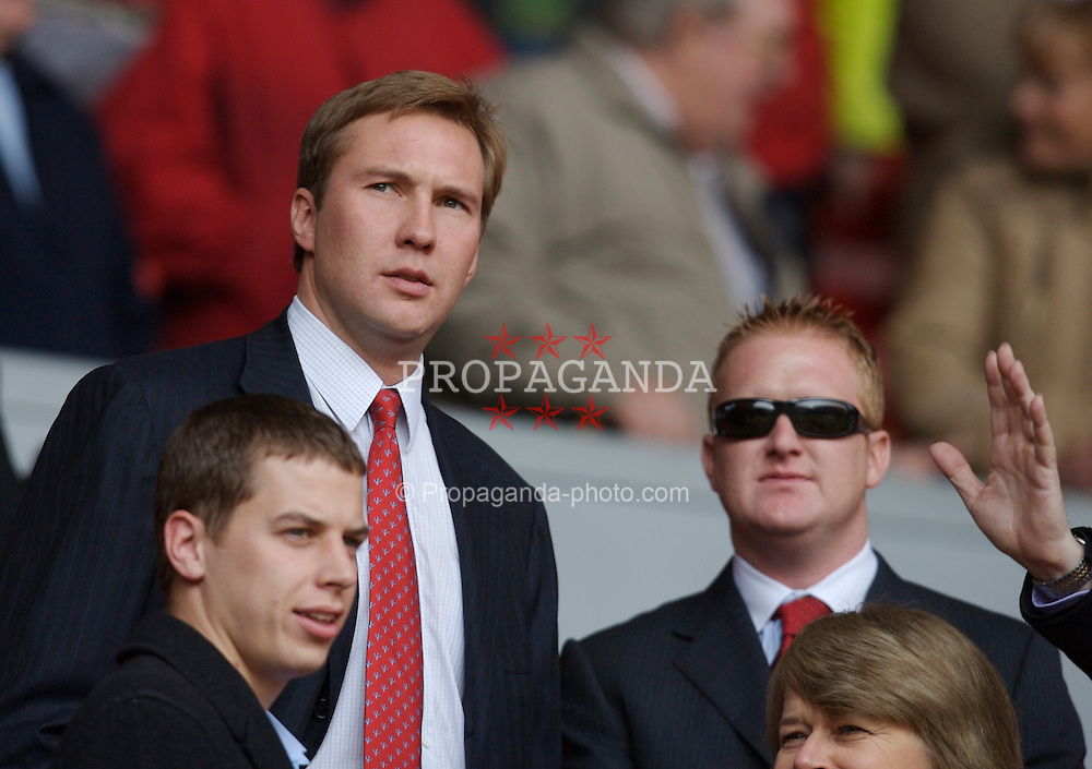 Liverpool, England - Saturday, March 3, 2007: Sons of co-owner Tom Hicks during the Premiership match at Anfield. (Pic by David Rawcliffe/Propaganda)