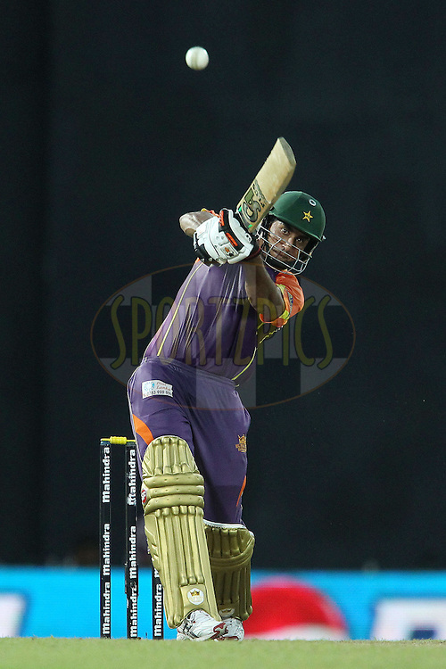 Nasir Jamshed during match 17 of the Sri Lankan Premier League between Basnahira Cricket Dundee and Ruhuna Royals held at the Premadasa Stadium in Colombo, Sri Lanka on the 25th August 2012. .Photo by Ron Gaunt/SPORTZPICS/SLPL