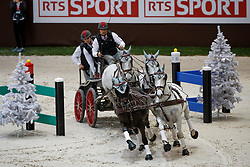 Weber Chester, USA, Ikar, Maestoso 51, Maestoso Jupiter, Platon, Pottom<br /> FEI World Cup Driving presented by RTS<br /> CHI de Genève 2017<br /> © Hippo Foto - Dirk Caremans<br /> 10/12/2017