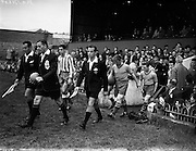 01/10/1958<br /> 10/01/1958<br /> 01 October 1958<br /> Soccer, European Cup: Drumcondra v Atletico de Madrid at Dalymount Park, Dublin.
