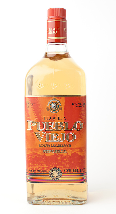 Pueblo Viejo reposado -- Image originally appeared in the Tequila Matchmaker: http://tequilamatchmaker.com