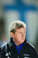 Finnish national team head coach Roy Hodgson. Belarus - Finland. Paphos, Cyprus, March 1, 2006.