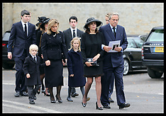 OCT 24 2014 Duke of Malborough funeral