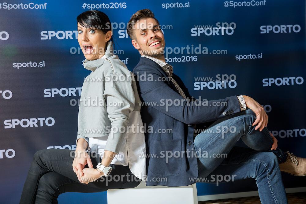 Sports marketing and sponsorship conference Sporto 2016, on November 18, 2016 in Hotel Slovenija, Congress centre, Portoroz / Portorose, Slovenia. Photo by Vid Ponikvar / Sportida