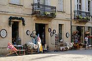 France, Languedoc Roussillon, Gard, Uzès, Place Dampmartin