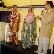 Tennisclinic Hilversum Open 2004, kleding show Novomundo
