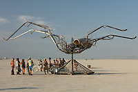 Spider Sweet by: Bryan Argabrite from: Santa Cruz, CA year: 2018 My Burning Man 2018 Photos:<br />