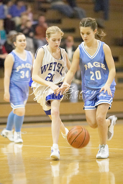 MCHS 8th Grade Girls..vs Page..Third Period..December 16, 2004