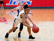 Norman's Kelbie Washington driving past the Blue Jackets during their game on Saturday, March 02, 2019 at Western Heights.