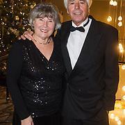NLD/Rotterdam/20131216 - Society Lunch Silver Bells Christmas, Klaas Wilting en partner Gerda
