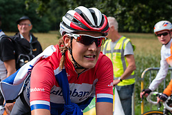 Lucinda Brand of Rabo Liv Women Cycling Team after the finish at the Holland Ladies Tour, 's-Heerenberg, Gelderland, The Netherlands, 1 September 2015.<br /> Photo: Pim Nijland / PelotonPhotos.com