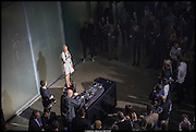Nicola Stephenson , Mission 10th Anniversary party. The Turbine Hall, Tate Modern. London. 12 March 2014.