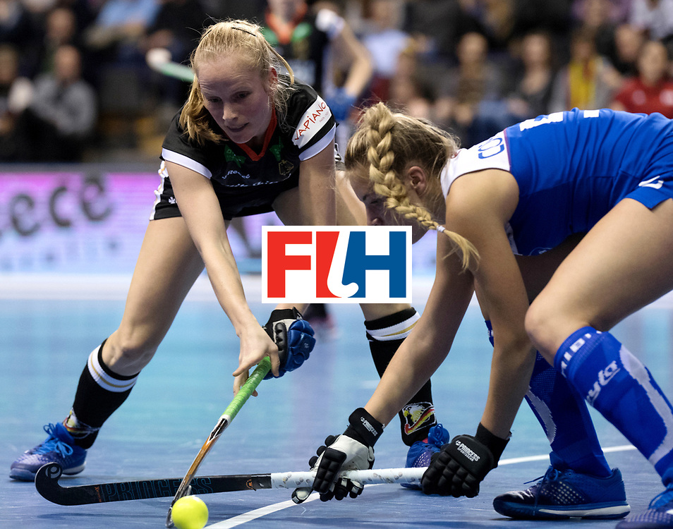 BERLIN - Indoor Hockey World Cup<br /> Women: Germany - Namibia<br /> foto: SCHLENKER Friderike.<br /> WORLDSPORTPICS COPYRIGHT FRANK UIJLENBROEK