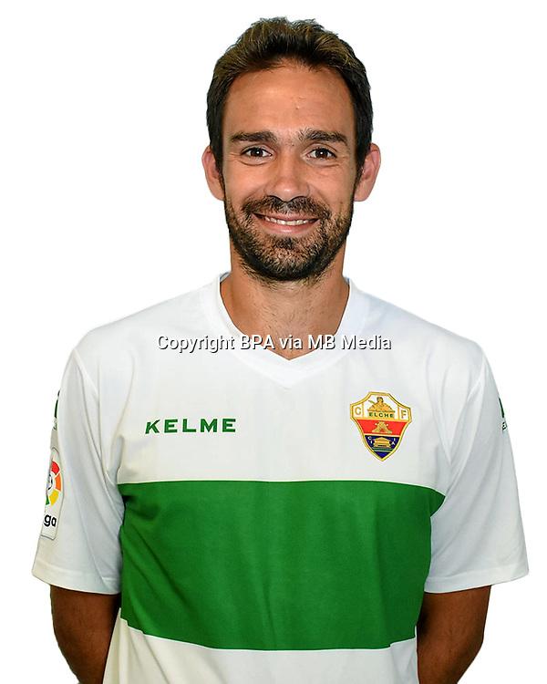 Spain - La Liga B 123 _ 2016-2017 / <br /> ( Elche C.F. ) - <br /> Manuel Jesus Ortiz Toribio &quot; Lolo Ortiz &quot;