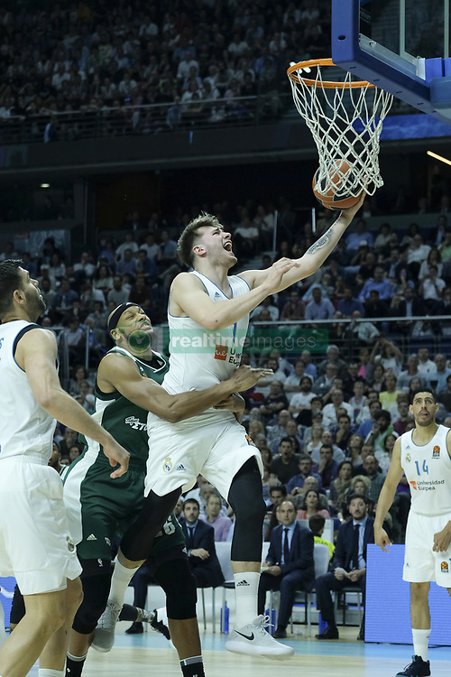 8dd9b614bf3 April 27, 2018 - Madrid, Spain - LUKA DONCIC of Real Madrid during the.