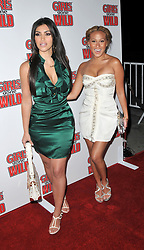 Apr 22, 2008 - Hollywood, California, USA - Actress KIM KARDASHIAN and singer ADRIENNE BAILON at the 'Girls Gone Wild' magazine party launch held at the Area Club. (Credit Image: © Jeff Frank/ZUMA Press)