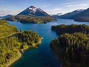 Jackpot Bay, Prince William Sound, Alaska.