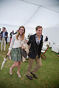 PRINCESS BEATRICE; DAVE CLARKE, Cartier Queen's Cup final at Guards Polo Club, Windsor Great Park. 16 June 2013