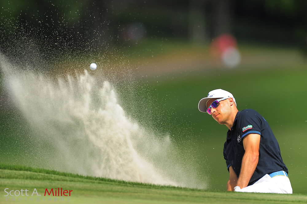 Ben Crane during the final round of the Wells Fargo Championship at the Quail Hollow Club on May 6, 2012 in Charlotte, N.C. .©2012 Scott A. Miller.
