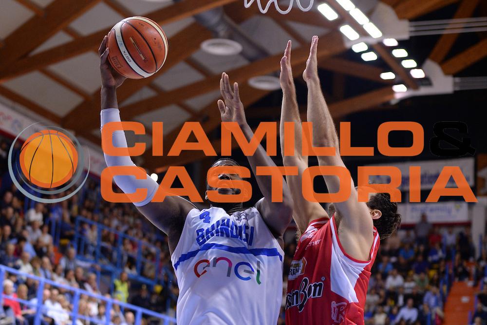 Carter Robert Lawrence <br /> Enel Brindisi - Grissin Bon Reggio Emilia<br /> BASKET SerieA 2016-2017<br /> Brindisi 16/10/2016 <br /> FOTO CIAMILLO