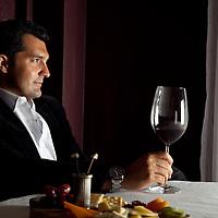 Mathew Milotich, CEO of Royal Prestige Wine Cellar at Eugenia Hotel in Bangkok