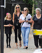 14.AUGUST.2012. LONDON<br /> <br /> KATE MOSS AND HER DAUGHTER ALONG WITH KATE'S PA AND NANNY ALL ENJOY AN AFTERNOON OUT FOR LUNCH AT 'COTE BRASSERIE' IN HIGHGATE VILLAGE IN NORTH LONDON, UK.<br /> <br /> BYLINE: EDBIMAGEARCHIVE.CO.UK<br /> <br /> *THIS IMAGE IS STRICTLY FOR UK NEWSPAPERS AND MAGAZINES ONLY*<br /> *FOR WORLD WIDE SALES AND WEB USE PLEASE CONTACT EDBIMAGEARCHIVE - 0208 954 5968*
