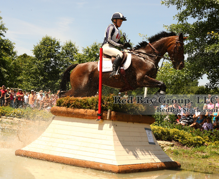 Hawley Bennett-Awad and Gin 'N' Juice at the 2009 Maui Jim Horse Trials in Wayne, Illinois.